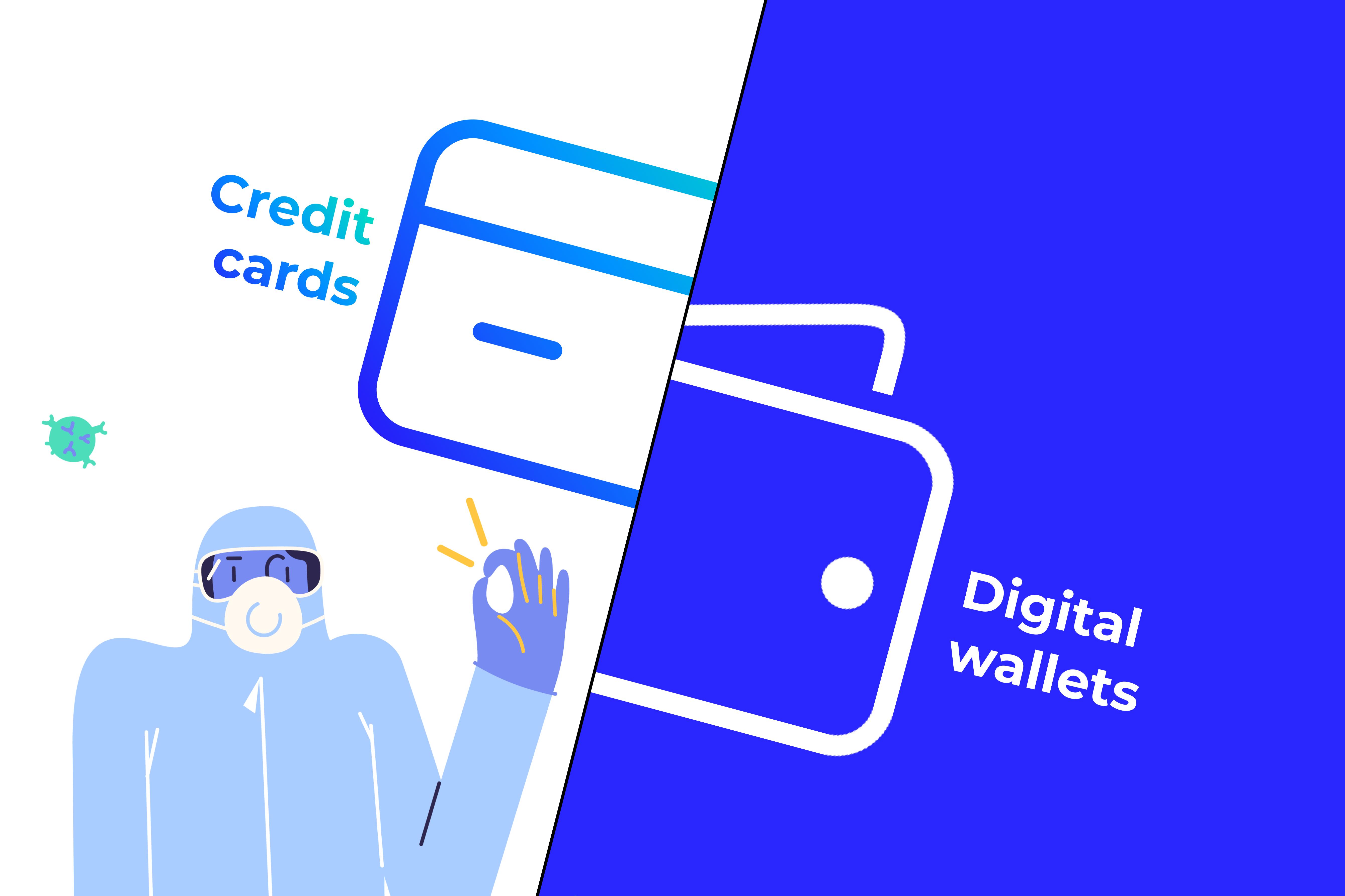 Digital wallets vs. credit cards - Best digital wallets you should explore